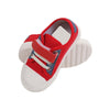 Fancy Strap Style Sneakers For Boys - Red/White (G-661)