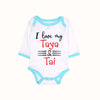 I love My Taya & Tai Romper For Infants - White (016)