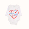 My Nana & Nani Loves Me Romper For Infants - White (013)
