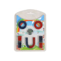 Magnet Playing Set With Small Compass - 6 Pcs (8020)