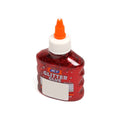 M.Y Washable Glitter Glue Red - 100ml (MY-931)