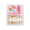 Artificial Nail Tip Jewelry Set - Yellow (2201)