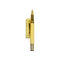 Stylish Fountain Ink Pen With Case - Yellow (2001)