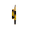 Stylish Fountain Ink Pen With Case - Yellow/Black (29071)