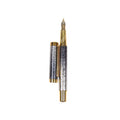 Stylish Fountain Ink Pen With Case - Multi (29071-1)