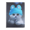 Little Kitty Note Book For Kids - Black (06731)