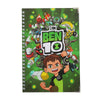 Ben 10 Printed Note Book For Kids - Green (06730)