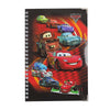 Cars 2 Printed Character Note Book - Red (06730)