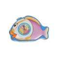Fish Coin Box with Clock For Kids - Blue (S77)