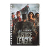 Justice League Characters Note Book - Black (06730)