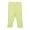 Plain Back Pocket Tights For Girls - Green (J-1821)