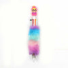 Multicolor Fur Ball Pen 6 Color Nib - Pink (2619)