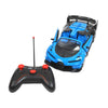 3D Famous R/C Remote Control Car - Blue (614-7)