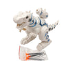 Battle Dinosaur Rex Toy For Kids - White (0839)
