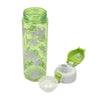 Flowers Water Bottle 600ml - Green (702)