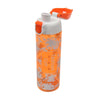 Flowers Water Bottle 600ml - Orange (702)