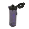 Sports Water Bottle For Kids 700ml - Black/Purple (YY-302)