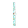 Flexible Hello Kitty Wrist Watch For Girls - Sea Green (1358)