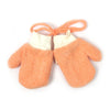 Fancy Winter Gloves For Kids - Orange (WG-17)