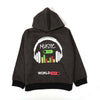 Music On Fleece Hoodie For Boys - Grey (BH-12)
