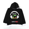 Music On Fleece Hoodie For Boys - Black (BH-11)