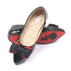 Fancy Ballerina Pumps For Girls - Black (107-4)