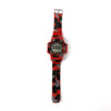 Chrono Wrist Watch For Boys - Red/Black (2764)