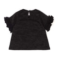Sequin Cocacola T-Shirt For Girls - Black (6402)