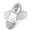 Glitter Shiny Sneakers For Girls - Green (1010-14)