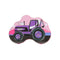 Tractor Coin Box For Kids - Purple (P25)