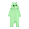 Panda Hooded Romper For Infants - Green (BR-43)