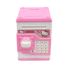 Hello Kitty Money Safe For Kids - Pink (WF-3001HK)
