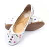 Fancy Sequin Pumps For Girls - White (107-12)