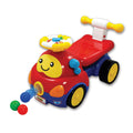 Walker Ride-On Popping Car - Red (0818)