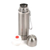 SUS 304 Stainless Steel Water Bottle 500ml- Silver (LKZ-C50)