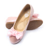 Fancy Bow Pumps For Girls - Pink (1005-8)