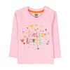 Hello Lovely T-Shirt For Girls - Pink (3799)