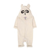 Panda Hooded Romper For Infants - Cream (BR-42)
