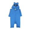 Panda Hooded Romper For Infants - Blue (BR-44)