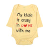 My Khala Romper For Infants - Yellow (3803)