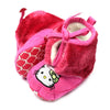 Hello Kitty Fur Booties For Girls - Pink (BB-49)
