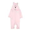 Bear Hooded Romper For Infants - Pink (BR-46)