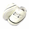 Fancy Strap Style Booties For Boys - White (BB-43)