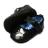 Fancy Butterfly Booties For Girls - Black (BB-52)