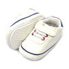 Fancy Strap Style Booties For Boys - White (BB-47)