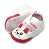 Fancy Kitty Booties For Unisex - White/Red (BB-48)