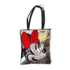 Minnie Mouse Hand Bag - Golden (4549)