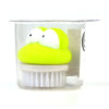 Kweader Frog Mini Bath Brush - Green (B3459)