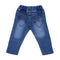 Unicorn Denim Pant For Girls - Mid Blue (DP-037)
