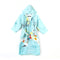 Sea Hooded Bathrobe For Kids - Sea Green (BR-20)
